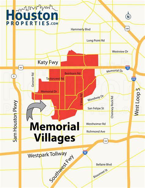 houston map of high water memorial villages houston real estate neighborhood guide