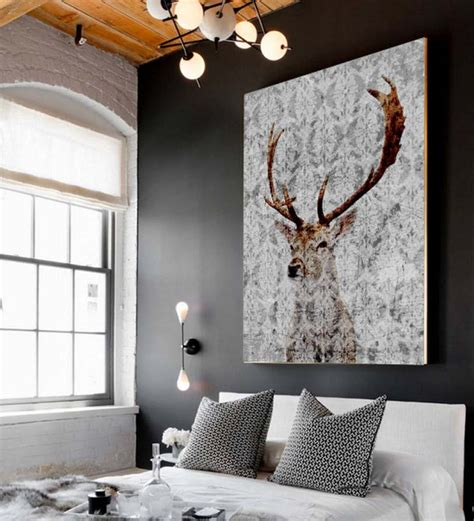 stag wall decor stag wall and antler wall decor homegirl