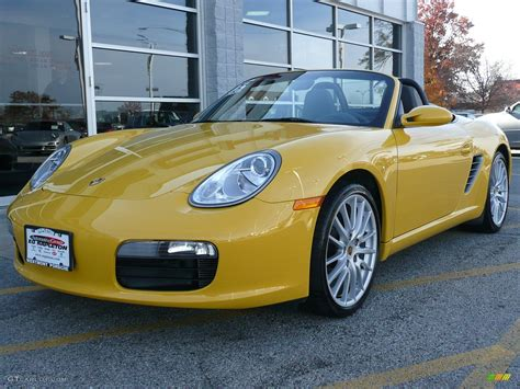yellow porsche boxster 2005 speed yellow porsche boxster 51778 gtcarlot com