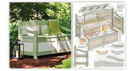 outdoor storage bench plans outdoor storage bench plans woodarchivist