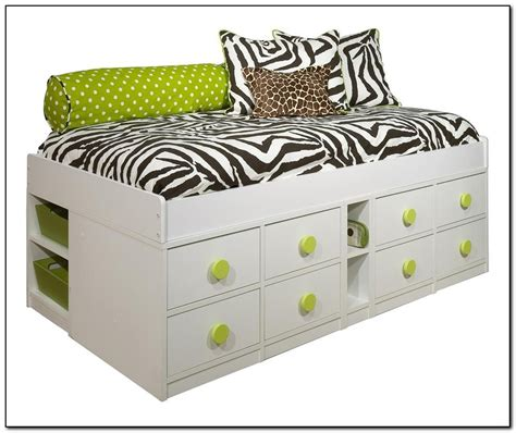 storage twin bed frame twin storage bed frame beds home design ideas
