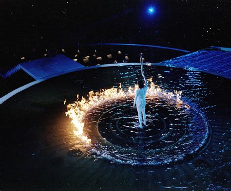 Lighting Olympic Torch by File Olympic Torch Lighting Ceremony A Look Back At The