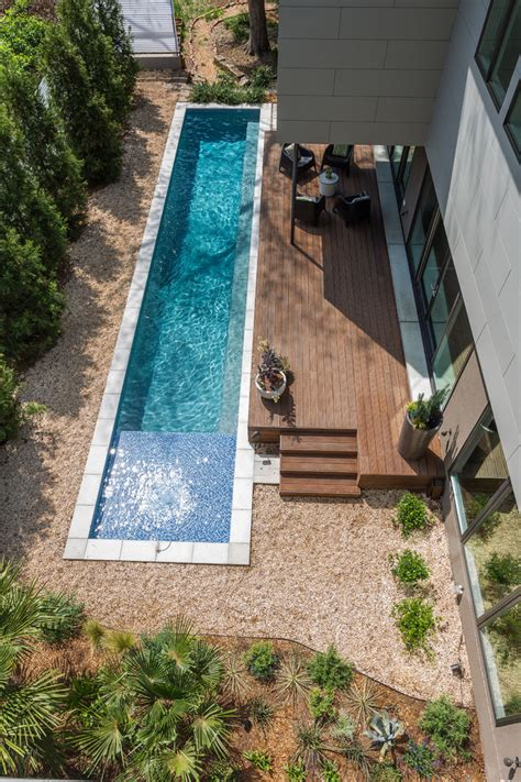 pool tile ideas Pool Contemporary with barbecue blue