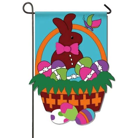 easter garden flag easter basket garden flag easter garden flags holiday