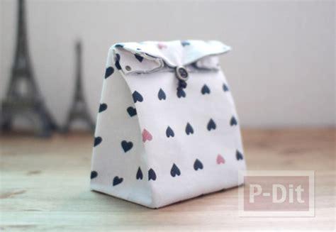 Pouch Kotak Handmade Canvas ไอเด ยตกแต งถ งผ า