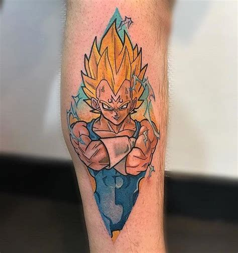 the used tattoos majin vegeta done by michelabottin to submit your