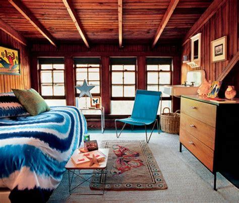 bett unter dachschräge landhaus modern esszimmer