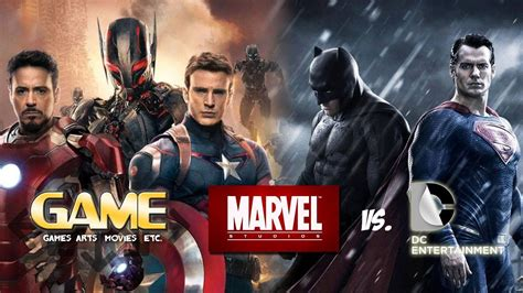film marvel e dc g a m e marvel vs dc who has the better film lineup