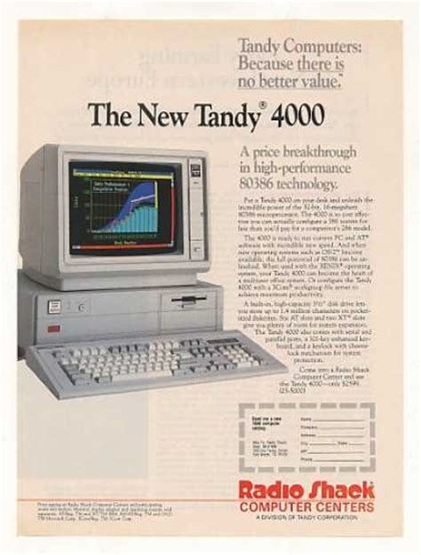 Tandy Lol vintage computers and software ads of the 1980s page 13