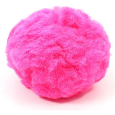 pink pomeranian neon pink pom pom 12 7 cm hobbycraft