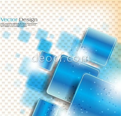layout cover cdr blue plaid background cover design template eps file