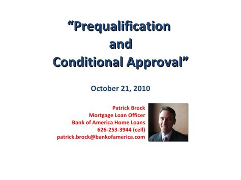 prequalify for home loan bank of america home review