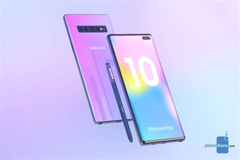 samsung galaxy note 10 5g variante android sandwich