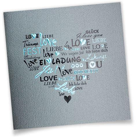 Hochzeitseinladung Englisch by Hochzeitseinladungen Drucken Wir Drucken Eure Texte In
