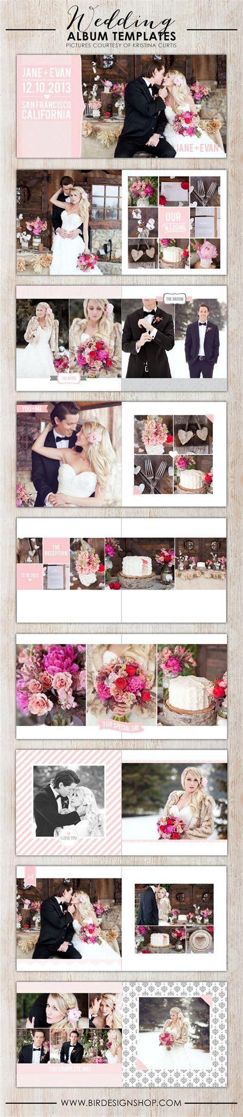 New Wedding Albums Birdesign Photoshop Wedding Album Templates