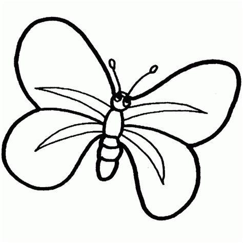 dibujo de mariposa en flores para colorear dibujos de mariposas para colorear y pintar