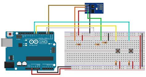 esp8266 tutorial arduino ide circuito arduino e m 243 dulo esp8266 arduino pinterest