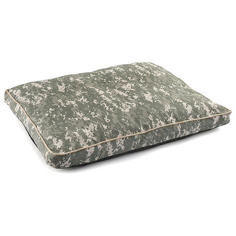 military bed military style u s army dog bed camo 294125 kennels