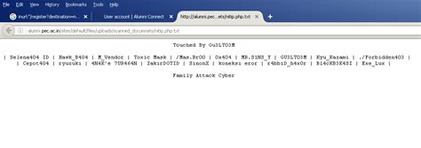 deface attack tutorial deface drupal file with ter all tutor cyber