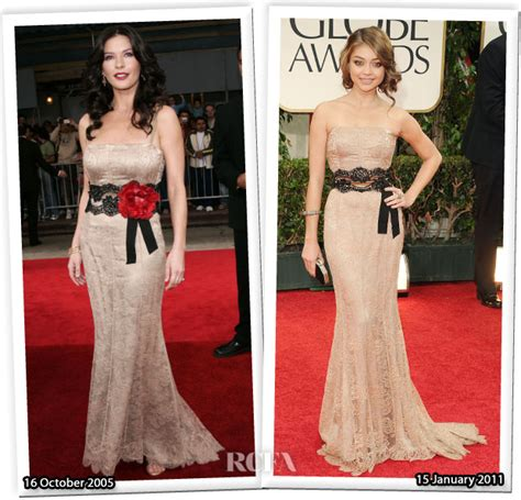 Who Wore Dolce Gabbana Better Carpet Style Awards 2 by Who Wore Dolce Gabbana Better Catherine Zeta Jones Or