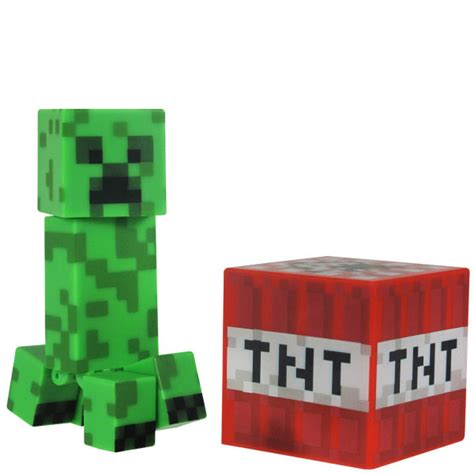 3 inch figures minecraft 3 inch creeper figure iwoot