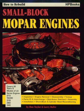 How To Rebuild Small Block Mopar Engines At Virtual