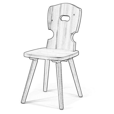 sedie grezze legno sedia rustica in legno grezzo w5100 legno grezzo arredas 236