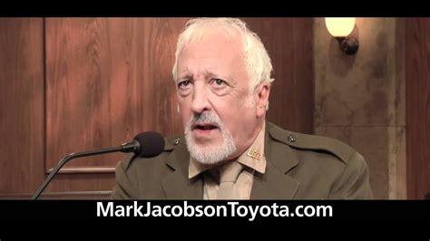 Marc Jacobson Toyota Automotive Advertising Jacobson Toyota A Few