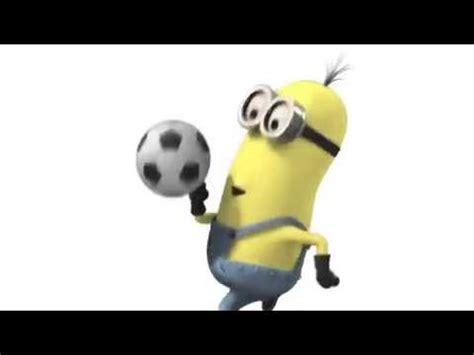 imagenes de minions jugando jugando futbol gif imagui