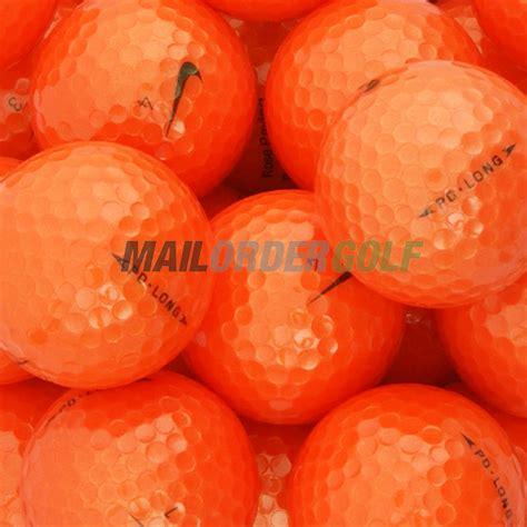 nike pd soft orange golf balls sale golf discount 12 nike pd long soft orange lake st annes lancashire