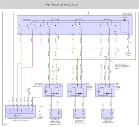 power window relay wiring diagram gm power window wiring