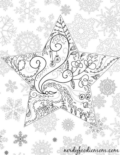 coloring pages for adults star 10 holiday coloring pages and books dawn nicole designs 174
