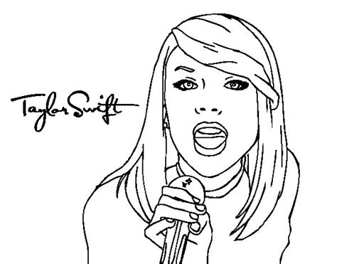 taylor swift coloring games coloring pages