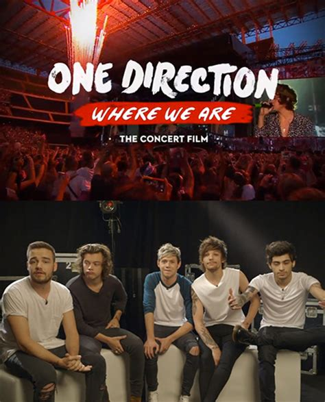 film dokumenter one direction where we are one direction scrapping personal footage from where we