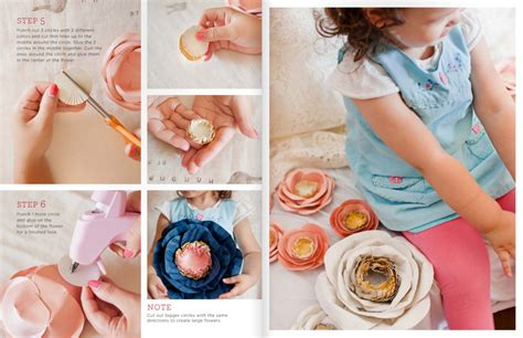 diy friday handmade paper flowers in issue 17 171 utterly