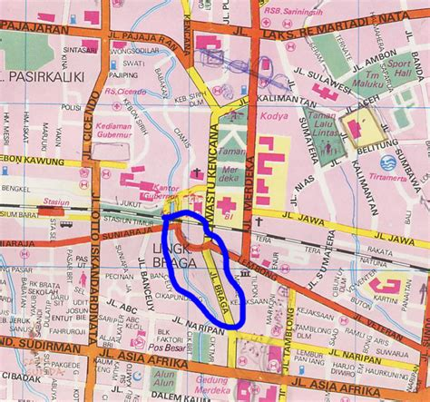 map of bandung city pladesco home page