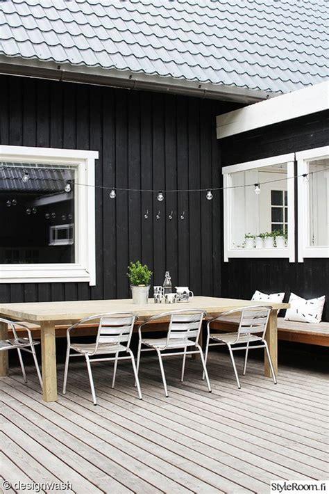 black wood paint exterior terassi ennen ja j 228 lkeen sisustuskuvia j 228 senelt 228