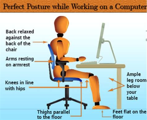 what desk is using adopting the correct posture at work and beyond