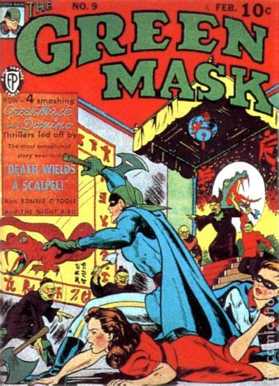 Masks Vol 1 green mask vol 1 1940 comic books
