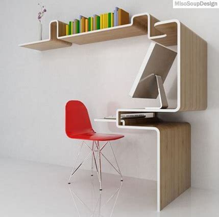 non desk that pay well compact and functional k workstation by miso soup design
