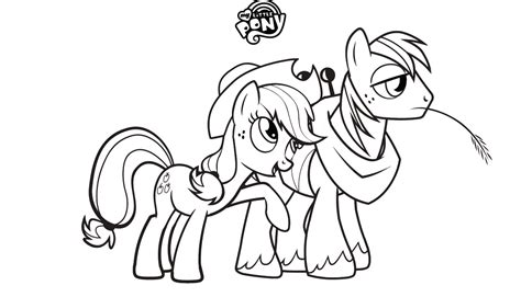 Free Printable My Little Pony Coloring Pages For Kids My Pony Friendship Is Magic Coloring Pages To Print