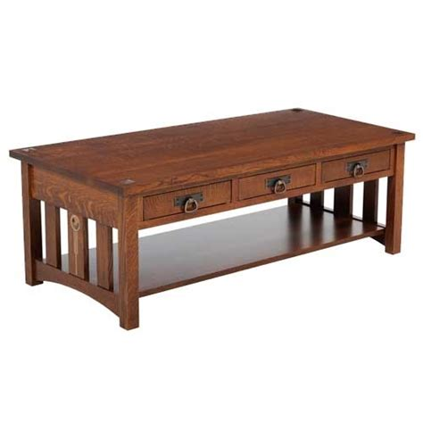 Craftsman Coffee Table Craftsman Coffee Table