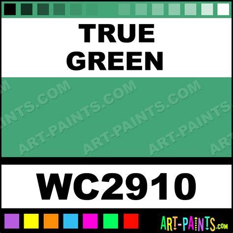 true colors green true green artist 36 set watercolor paints wc2910 true