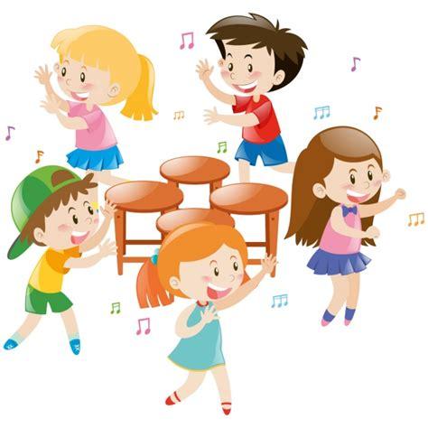 imagenes animadas niños jugando ni 241 os jugando alrededor de sillas descargar vectores gratis