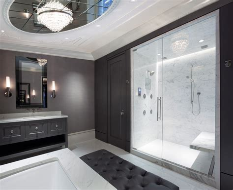 size of master bathroom average size master with glass shower doors bathroom