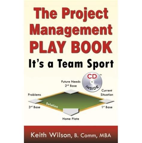 Project Management Practice The Project Management Playbook It S A Team Sport Book Project Playbook Template
