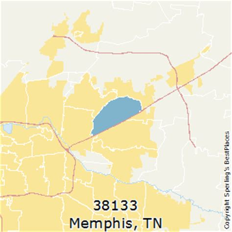 zip code map for memphis tn best places to live in memphis zip 38133 tennessee