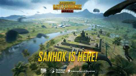 pubg mobile sanhok map update  locations  loot