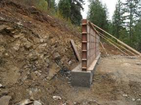 top 25 best concrete retaining wall footing design concrete retaining wall design related