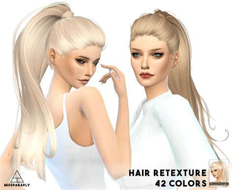 ponytailsims 4 child sims 4 hairs miss paraply alesso s paraguay hairstyle